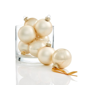 8-Pc. Champagne-Colored Ornament Set, Created for Macy's