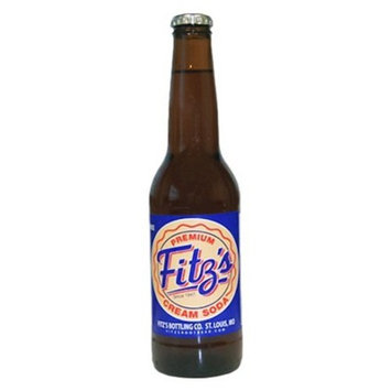 Fitz's Cream Soda - 4pk / 12 fl oz Glass Bottles