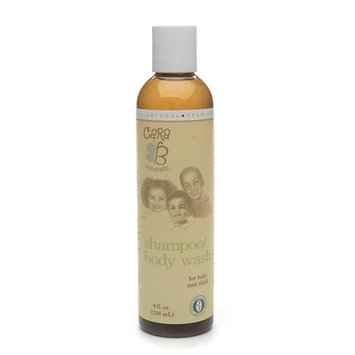 CARA B Naturally Shampoo Body Wash for Baby and Child 8.0 fl oz(pack of 2)