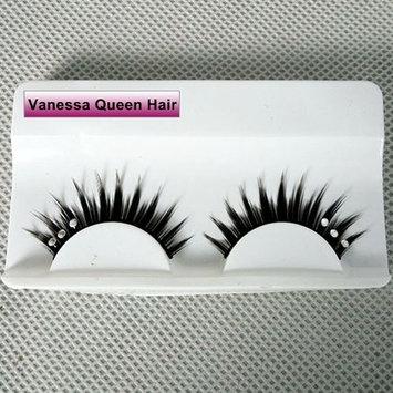 Vanessa Queen Handmade Reusable Fake Eyelashes For Makeup False Lashes 1 Pair Pack