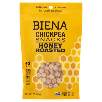 Biena Foods Biena, Chickpea Roasted Honey, 5 Oz (Pack Of 8)