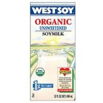 Westsoy Unsweetened Westsoy (12x32 Oz)