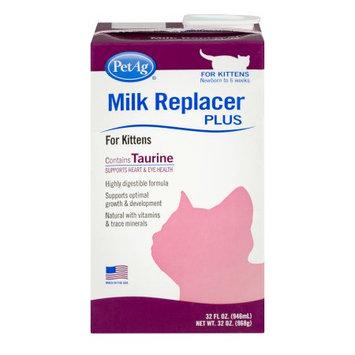 Petag Milk Replacer Plus Liquid for Kittens, 32 oz