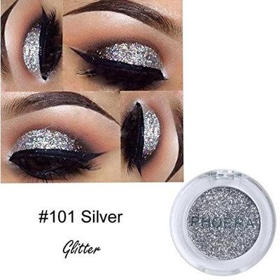 Eyeshadow Diamond Palette,YOYORI Pearl Metallic Shimmer Waterproof and Long-Lasting Natrual Glitter Powder Shimmering Colors Eyeshadow Metallic Eye Cosmetic for Professional Makeup or Daily Use