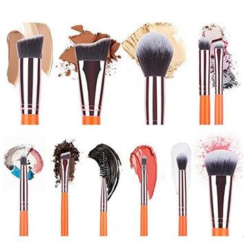 Baomabao 11PCS Make Up Eyebrow Eyeliner Blush Concealer Cosmetic Foundation Brushes