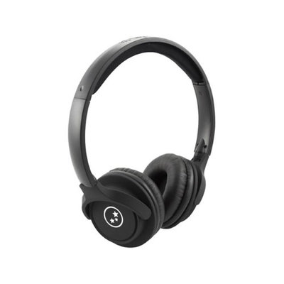 Able Planet Travelers' Choice SH190BM Headphone - Stereo - Matte Black - Mini-phone - Wired - 20 Hz 20 kHz - Over-the-head - Binaural - Circumaural