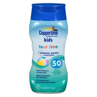 Coppertone Kids Tear Free Mineral Sunscreen SPF 60 6.0 oz.(pack of 2)