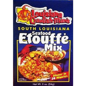 Louisiana Crawfish Man's Seafood Etouffe Mix, 2 Ounces
