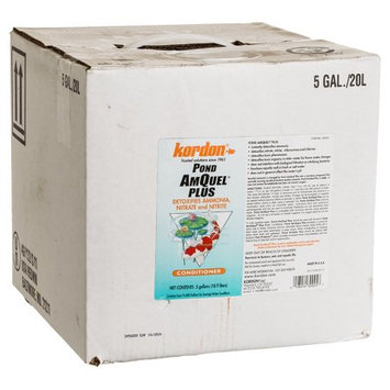 Kordon Pond AmQuel Plus Conditioner: 5 Gallon - (Treats 76,800 Gallon