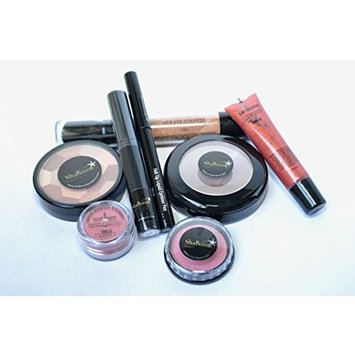 World of Color Starter Kit - Made for Women of Color for an Easy, Natural, Beautiful, Radiant Glowing Look - 8-pc Face, Lips, Eyes Make-up Set by ShaBoom Beauty