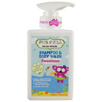 Jack n' Jill, Natural Bathtime, Shampoo & Body Wash, Sweetness, 10.14 fl oz (300 ml) [Scent : Sweetness]