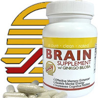 Best Brain Supplement with Ginkgo Biloba-Effective Memory Enhancer, Assists Mental Energy, Increases Cognitive Abilities 60 Capsules [1]