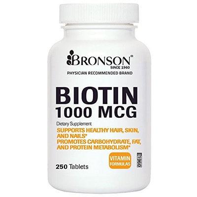 Bronson Vitamins Biotin 1000 mcg