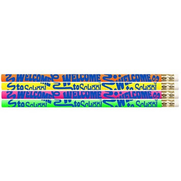 Musgrave Pencil MUS1425DBN Welcome To School Pencils - 12 Dozen - 12 per Pack