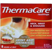ThermaCare Neck / Shoulder Heatwraps Odorless 3 Per Box by Milliken Medical - MS80385