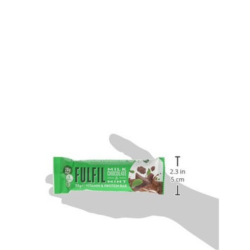 Fulfil Milk Chocolate & Mint Vitamin and Protein Bar - Pack of 15