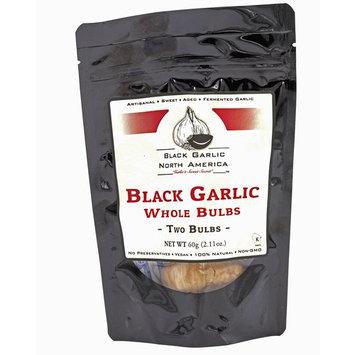 Black Garlic American Whole Bulb -Kosher Certified-2 per package