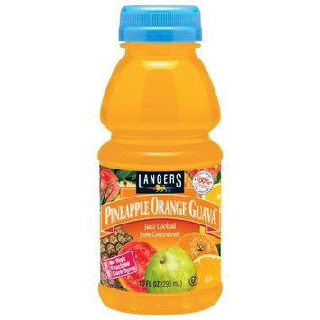 Langers Juice Drink, Pineapple Orange Guava Cocktail, 10 Fl Oz (Pack of 12)