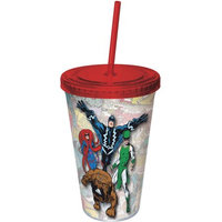 Icup Marvel Comics: Inhumans 16-oz. Tumbler (Straw)