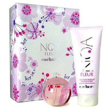 Noa Fleur by Cacharel Women Gift Set - 3.4 oz EDT Spray + 6.7 oz Body Lotion