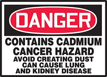 Accu Form CONTAINS CADMIUM CANCER HAZARD AVOID CREATING DUST CAN CAUSE LUNG AND KIDNEY DISEASE