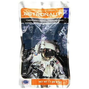 Cookies and Cream Astronaut Ice Cream Sandwhich (10 Packages)