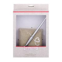 Gartner Studios Script Love Linen Pen Holder and Pen
