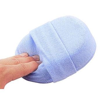 Natural Loofah Exfoliating Scrub Bath Ball, Natural Loofah Luffa Loofa Bath Shower Wash Body Pot Sponge Scrubber Tool Towel(Blue)