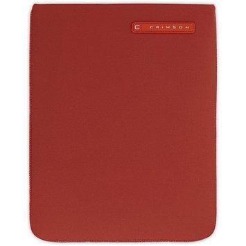 CRIMSON Red Neoprene Sleeve for iPad 2, 3, 4 CRIMSON Red Neoprene Sleeve for iPad 2, 3, 4