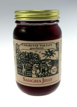 Cherith Valley Gardens SJ10 Sangria Jelly 10 oz