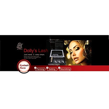 Dolly's Lash Premium Pack - Brighten and Lift Eyelashes in Just 3 Steps - Eyelash Perm Kit for 15-18 Applications