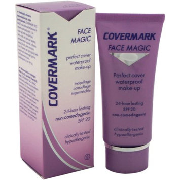 Face Magic Make-Up Waterproof SPF20 - # 8 by Covermark for Women - 1.01 oz Makeup