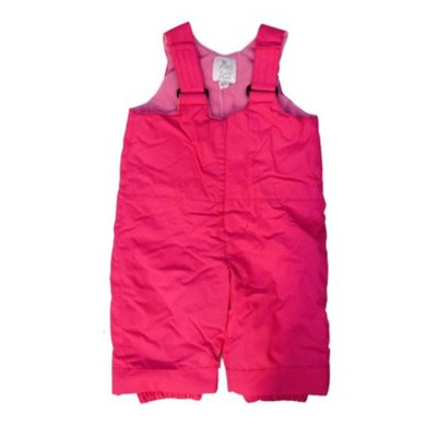 Childrens Place Infant Toddler Girls Water Resistant Pink Snow Pants Ski Bibs 4T [baby_clothing_size: baby_clothing_size-4t]