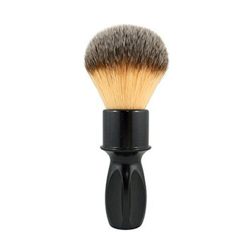 RazoRock 400 Plissoft Synthetic Shaving Brush - Glossy Black Handle