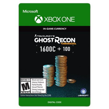 Incomm Xbox One Tom Clancy's Ghost Recon Wildlands Currency pack 1700 GR credits (email delivery)