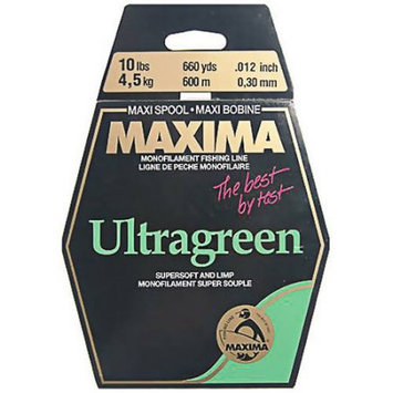 Maxima Marine Green Fishing Line One Shot