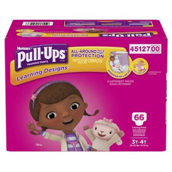 Huggies Pull-Ups Learning Designs Training Pants for Girls, 3T-4T, 66ct