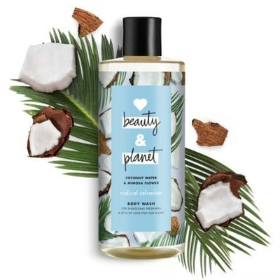 Love Beauty and Planet - Coconut Water & Mimosa Flower Body Wash 16 FL OZ