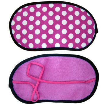 Atb Sleeping Eye Mask Silk Blindfold Cover Shade Travel Aid Rest Sleep Pink Gift New