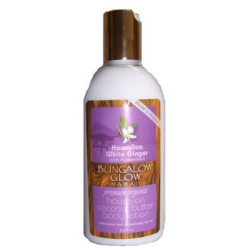 Hawaii Bungalow Organic Coconut Body Lotion 2 Bottles White Ginger