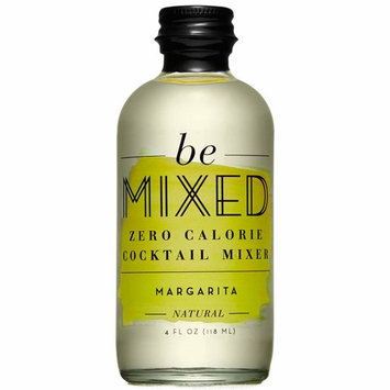Zero Calorie Margarita Cocktail Mixer by Be Mixed | Low Carb, Keto Friendly, Sugar Free and Gluten Free Drink Mix | 4 oz Glass Bottles, 12 Count