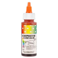 Chefmaster by US Cake Supply 2-Ounce Liquid Candy Food Color Color Orange