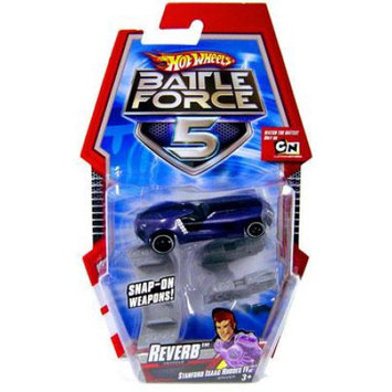 Mattel Hot Wheels Battle Force 5 Reverb 1/6 Diecast Vehicle [With Blasters]