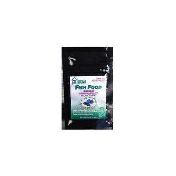 Kordon Home Grown Ponics 96050 Fish Food - Natural 0.5mm. 20 Gram Bag - Pack of 72