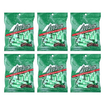 Set of 6 - 2.75oz Mint Thins Sweets Perfect for a Valentine's Day Gift ♡ Savory Delicious Treats to Show Them Your Love and Appreciation ♡ [Mint Thins]