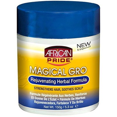 African Pride Magical Gro Rejuvenating Herbal Formula, 5.3 Ounce