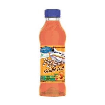 Tradewinds Jimmy Buffett's Island Tea, Peach Mango Black Tea 18.5-ounce plastic bottles (Pack of 12)