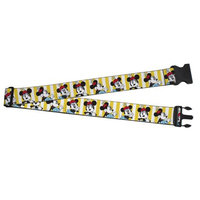 Buckle Down Minnie Mouse Luggage Strap, Yellow