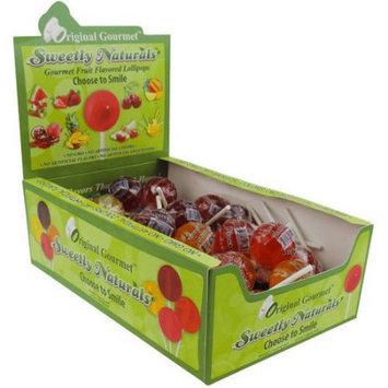 Original Gourmet Sweetly Naturals Lollipops, 48 count