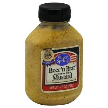Silver Spring Beer N Brat Mustard by Silver Spring